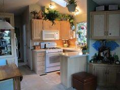 Tiny house cute kitchen