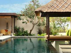 Villa Adenium: Luxury villa in Jimbaran, Bali with kids room. Holiday rental for families, friends and corporate retreats. Bali With Kids, Small Pool Design, Island Villa, Pool Designs, Luxury Villa, Swimming Pools, Around The Worlds, Vacation, Hgtv