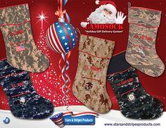 Military Camosock Christmas Stockings