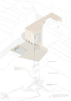 Damien Reiss Clayton. [ Topic ] Studio. MArch Part I // Stereotomy | SUPER//ARCHITECTS