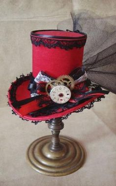 Steampunk hat by cristina