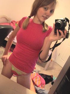 Pink shirt selfie
