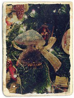 Ornamentos de Algodão - spun cotton ornament