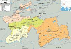Political Map of Bolivia Ezilon Maps South American Federation