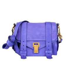 Proenza Schouler PS1 Leather Pouch. I just LOVE this shade of purple.
