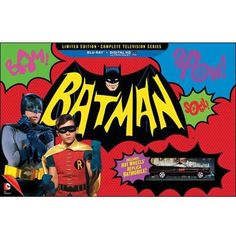 Batman: The Complete Television Series (Limited Edition) (Blu-ray + Digital HD + Batmobile) - Walmart.com