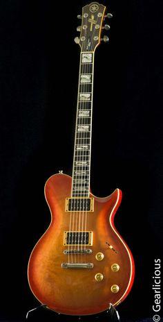 Yamaha Guitars, Cool Electric Guitars, Cool Gear, Acoustic Guitars, Bass, Music, Vintage, Instruments, Guitars