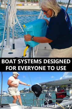 If you or your partner were incapitated, could the other one do all the necessary chores on the boat? How we set our systems up and how it's paying off. via @TheBoatGalley
