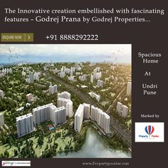 The project godrej prana in undri of pune is one of the top housing projects that is particularly important and known for the variety of housing types that you can avail within this single complex.Godrej Prana Pune book this lavish property at affordable budget. visit: http://www.propertypointer.com/godrej-prana/undri/pune