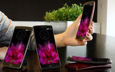 MWC: LG lança o smartphone LG G Flex 2 - http://showmetech.band.uol.com.br/mwc-lg-lanca-o-smartphone-lg-g-flex-2/