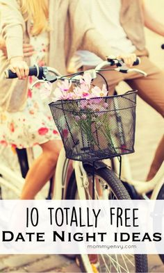We don't get to go on a date often but it's normally last minute so these free and cheap date night ideas are great to keep handy! (Can't wait to try #5!)