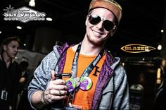 Photos from the Champs Trade Show Las Vegas featuring the work of photographer Sly Vegas. #ChampsTradeShow #ChampsVegas #Champs #ImaBlazer #SlyVegas #ButaneTorch #CleanButane #HookahTorch #BlazerProducts #Butane #Torch