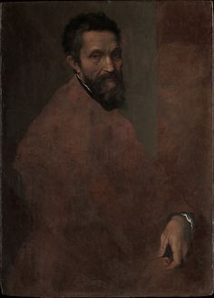 Daniele da Volterra (Daniele Ricciarelli) (Italian, 1509–1566). Michelangelo Buonarroti (1475–1564), probably ca. 1544. The Metropolitan Museum of Art, New York. Gift of Clarence Dillon, 1977 (1977.384.1) #mustache #movemsber