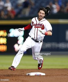 News Photo : Shortstop Dansby Swanson of the Atlanta Braves...
