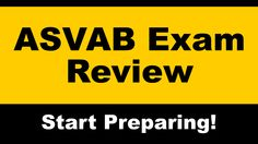 Free online video review for the ASVAB test. Explore our collection of test prep videos and understand the important subjects on the ASVAB exam. #asvab