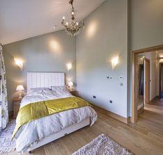 Luxus Schlafzimmer Mit Dachschräge   Inneneinrichtung WeberHaus Villa    HausbauDirekt.de
