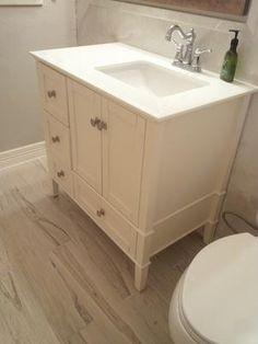 zilian Pecan White Porcelain Tile. Exclusive to Lowes, no ...
