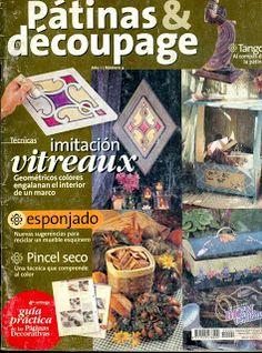 Revistas de Manualidades Para Descargar: Patinas y Decoupage Nº 4