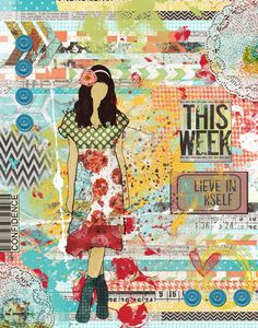 Art Journaling Pages - this week - Scrap Art Studio Gallery
