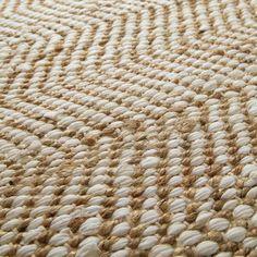 Tapis en toile de jute beige 140 x 200 cm BARCELONE
