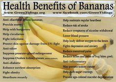 The amazing banana: health benefits