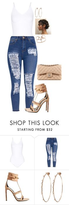 """""""Simple, still cute"""" by mikamik on Polyvore featuring Yummie by Heather Thomson, Gucci, Chanel, Mattia Cielo and Messika"""