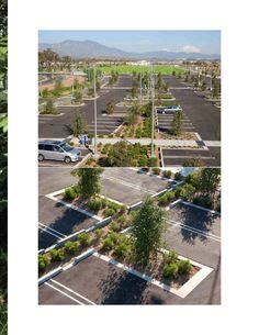 Ken Smith Landscape Architect- orange county great park parking lot