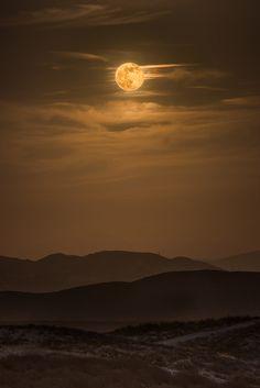 Supermoon Rising, Iron Mountain, California, by Chris Galando Photo, on 500px.
