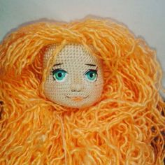 Мордашка #куклакрючком #ручнаяработа #вяжутнетолькобабушки #куклы #weamiguru #mycreativ_world #homemadedolls #dolls
