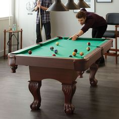 Triumph® Sports 'Santa Fé' 7 Pool Table With Table Tennis Top - Sears Triumph Sports, Tennis Tops, Canada Shopping, Pool Table, Online Furniture, Santa Fe, Wonderland, Toys, Awesome