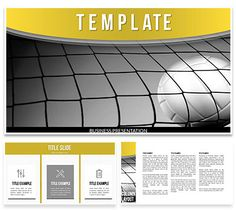 Sport Equipment Powerpoint Template  Powerpoint Templates
