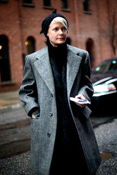 Kate Lanphear, New York Fashion Week Street Style 2013
