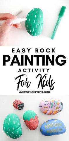 Easy Rock Painting A