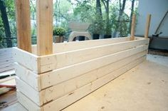 """How to Build a Planter Box"" —"