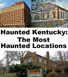 Haunted Kentucky: The Most Haunted Locations by Jeffrey Fisher. $4.99. 42 pages. This guide offers information on the most haunted locations in the state of Kentucky. Each location includes information on its history, and the spirit(s) believed to haunt the property.                            Show more                               Show less