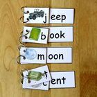 These Flip Books help teach the following sounds:  Ent, Eep, Oon, Ook