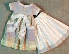 Garden Dress for Blythe  vintage  shabby chic style by CarrotRose