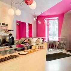 Cafe Foam Stockholm by Note Design Studio