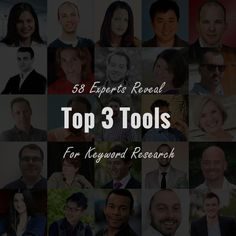 61 online marketing experts reveal their top 3 tools for SEO and PPC keyword research. Surprisingly, the most voted tool is NOT the Google keyword planner!
