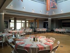 Reception at Kettering Family Education Center, Carillon Historical Park, Dayton OH.