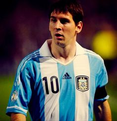 Messi, Argentina, football...  World strongest football player.