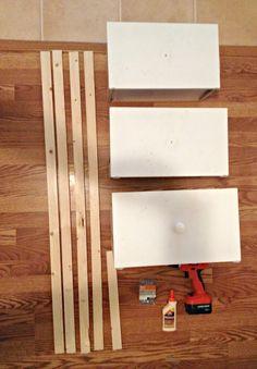 DIY Ladder Shelf Pieces
