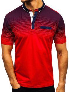 New Men's Fashion Casual Short Sleeve Polo Shirt T-Shirt Summer Slim Fit Polo Tee Shirt Tops Polo Shirt Brands, Mens Polo T Shirts, Golf Shirts, Camisa Polo, New Mens Fashion, Fashion Site, Slim Fit Polo, Types Of Sleeves, Short Sleeves
