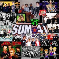 Sum 41.. lol love them