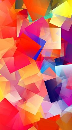 Simple Cubism Abstract 36 Print by Chris Butler.  All prints are professionally…