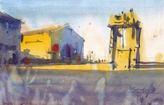 Michael Bennett Michael Bennett, Landscapes, Simple, Painting, Art, Paisajes, Art Background, Scenery, Painting Art