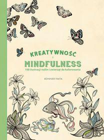 Kreatywność i Mindfulness. 100 ilustracji roślin i zwierząt do kolorowania-Dahlstrom Pontus
