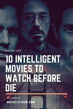 10 Intelligent Movies To Watch Before Die. movie, 10 Intelligent Movies To Watch Before You Die Netflix Movies To Watch, Good Movies To Watch, Interesting Movies To Watch, Movies Quotes, Tv Quotes, Iron Man 3, Shark Week, Movies And Series, Movies And Tv Shows