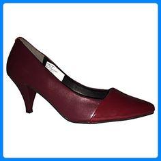 Patrizia Dini Pumps Schuhe Damenschuhe High Heels bordeaux Echtleder NEU (39) - Damen pumps (*Partner-Link)