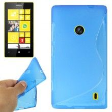 Funda Lumia 520 - Gel Sline Azul  $ 33,62